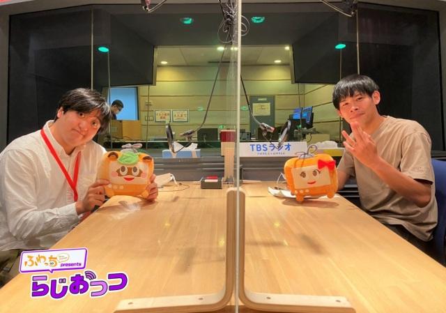 TBSラジオ『ふわっちpresents らじおっつ』に出演したカカロニ(C)TBSラジオの画像