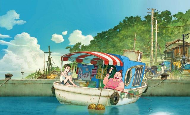 劇場アニメ映画『漁港の肉子ちゃん』(6月11日公開) (C)2021「漁港の⾁⼦ちゃん」製作委員会の画像