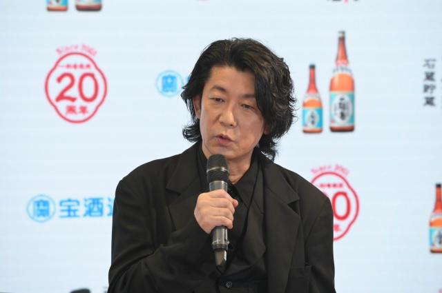 宝酒造『全量芋焼酎 一刻者』のブランドアンバサダーに就任した永瀬正敏の画像