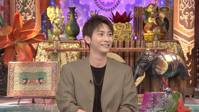 26日放送『今夜くらべてみました』に出演するAAA・與真司郎 (C)日本テレビの画像