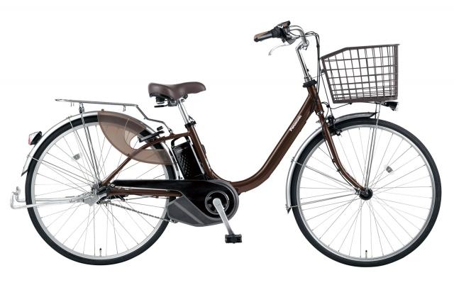 押し歩き機能を搭載した電動アシスト自転車『ビビ・L・押し歩き』の画像