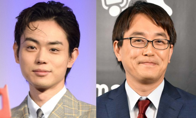 (左から)菅田将暉、羽生善治九段 (C)ORICON NewS inc.の画像