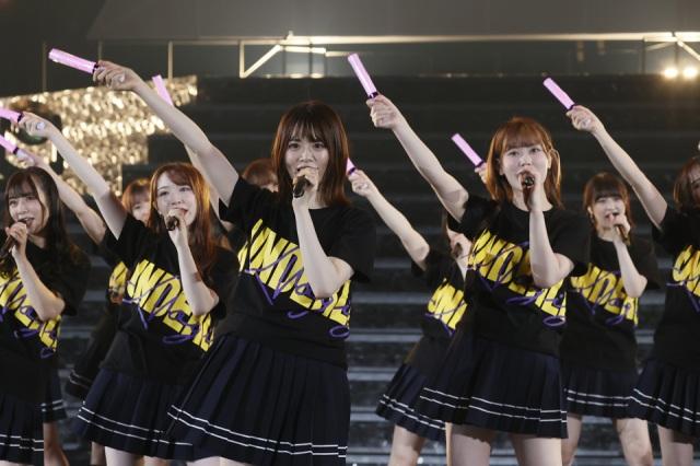 乃木坂46のアンダーメンバーが山﨑玲奈を座長(最前列)に横浜アリーナで無観客生配信ライブを開催の画像