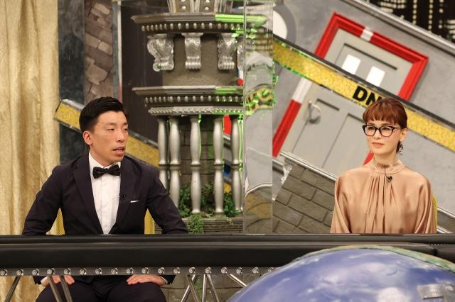 28日放送の『全力!脱力タイムズ』に出演する(左から)別府ともひこ、大地真央(C)フジテレビの画像
