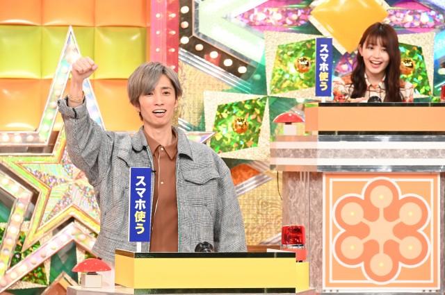 28日放送『クイズハッカー』に出演する田中樹、久間田琳加 (C)日本テレビの画像