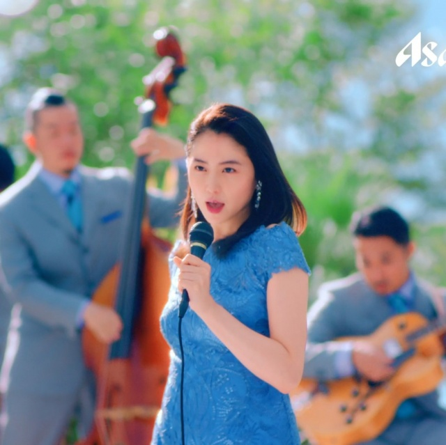 「『CALPIS』Light Blue」CMに出演する長澤まさみの画像