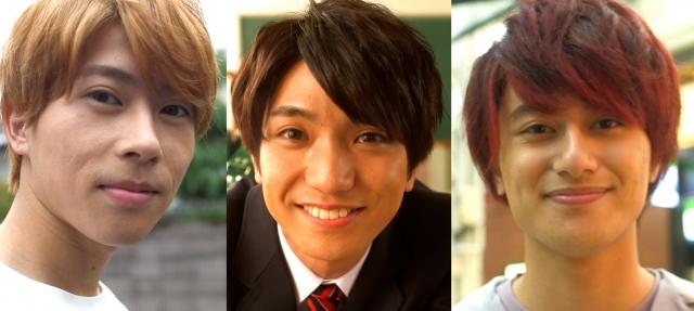 28日放送『みんなのオーダーで動画を作れ! 炸裂!ドーガーメイド』』に出演するAぇ!group(左から)末澤誠也、正門良規、小島健 (C)カンテレの画像