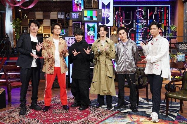 28日放送『MUSIC BLOOD』にDISH//が登場 (C)日本テレビの画像