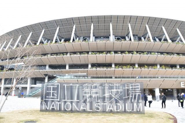 国立競技場 (C)ORICON NewS inc.の画像
