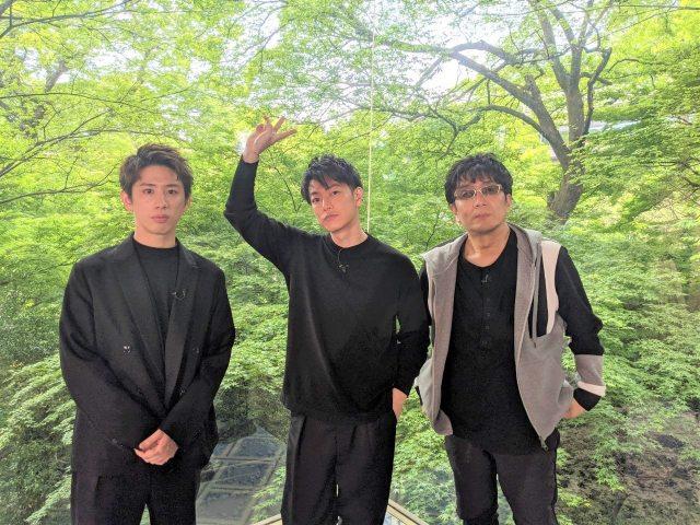 フジテレビ系『ボクらの時代』のオフショット(左から)Taka、佐藤健、大友啓史監督の画像