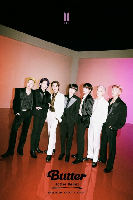 BTS 「Butter」エレクトロダンスミュージックジャンル 「Hotter」バージョンが公開の画像