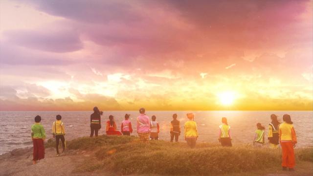 Eテレの子ども向け教育番組『天才てれびくん hello,』ヨルシカが担当した新たな番組テーマ「また明日」を6月9日の番組内で初披露 (C)NHKの画像