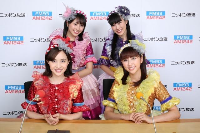 『ショウアップナイター』に出演するももいろクローバーZ(C)ニッポン放送の画像