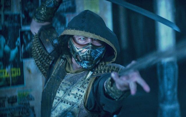 スコーピオン(真田広之)=映画『モータルコンバット』(6月18日公開)(C)2021 Warner Bros. Entertainment Inc. All Rights Reservedの画像