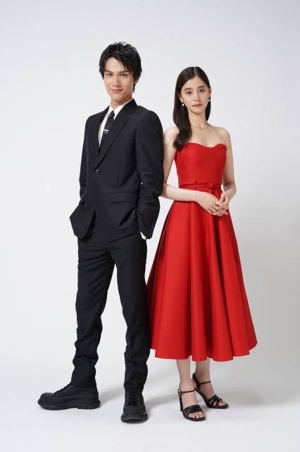 7月4日放送スタートの『ボクの殺意が恋をした』に出演する中川大志、新木優子 (C)読売テレビの画像