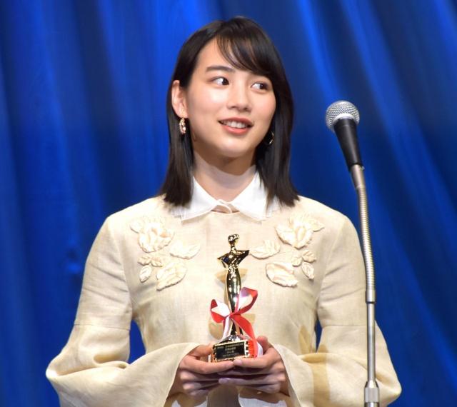 『私をくいとめて』で『第30回日本映画批評家大賞』主演女優賞を受賞したのん (C)ORICON NewS inc.の画像