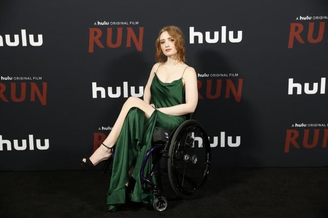 映画『RUN/ラン』(6月18日公開)クロエ役のキーラ・アレン Rachel Murray for Getty photoの画像