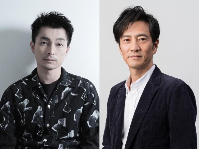 遠藤雄弥(左)と津田寛治(右)がダブル主演する映画『ONODA(原題)』2021年秋、全国公開の画像