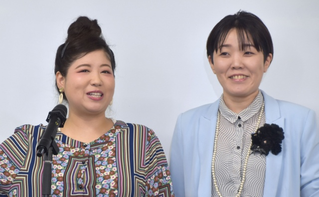 アジアン(左から)馬場園梓、隅田美保 (C)ORICON NewS inc.の画像