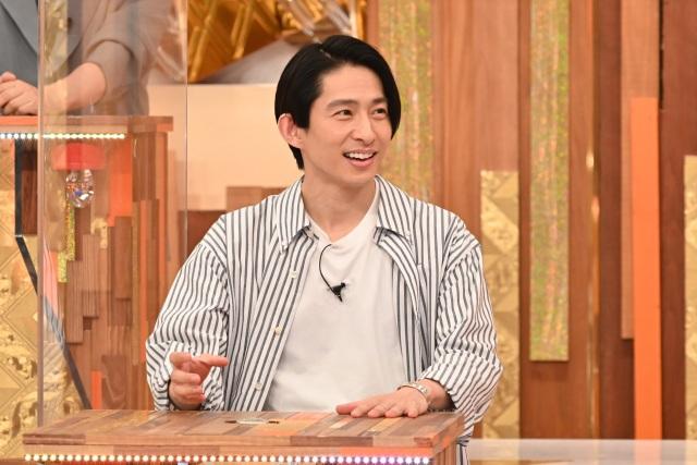 7日放送『痛快TV スカッとジャパン』に出演する三宅健 (C)フジテレビの画像