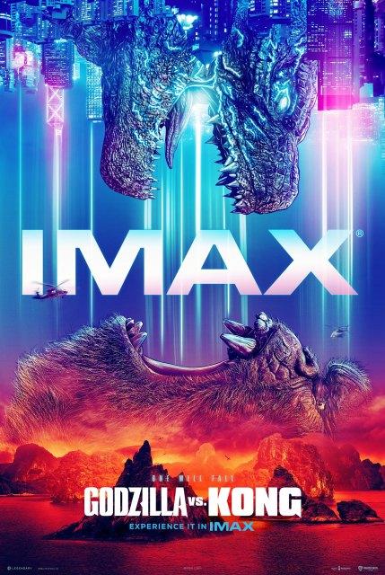 映画『ゴジラvsコング』仕切り直して7月2日に公開決定。IMAX劇場用日本版のポスター (C) 2021WARNER BROS. ENTERTAINMENT INC. & LEGENDARY PICTURES PRODUCTIONS LLC.の画像