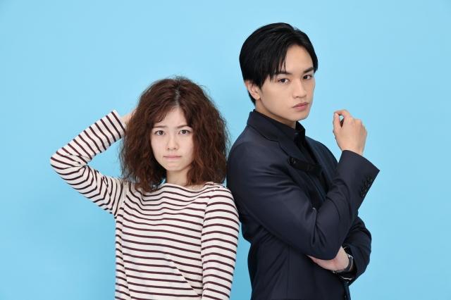 7月スタートのカンテレ・フジテレビ系連続ドラマ『彼女はキレイだった』にW主演する中島健人&小芝風花(C)カンテレの画像