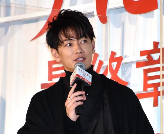 """『るろ剣』シリーズ""""完成""""を喜んだ佐藤健 (C)ORICON NewS inc.の画像"""
