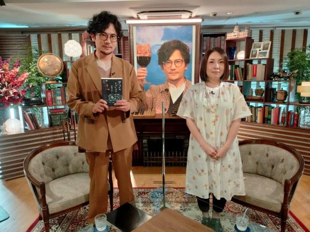 『7.2 新しい別の窓#39』に出演する町田そのこ氏(右)と稲垣吾郎(C)ABEMAの画像