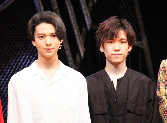 (左から)少年忍者の織山尚大、青木滉平(C)ORICON NewS inc.の画像