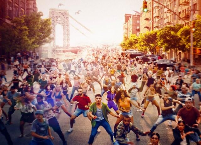 (1)躍動感あふれる群舞シーン=ミュージカル映画『イン・ザ・ハイツ』(7月30日公開)(C) 2020 Warner Bros. Entertainment Inc. All Rights Reservedの画像