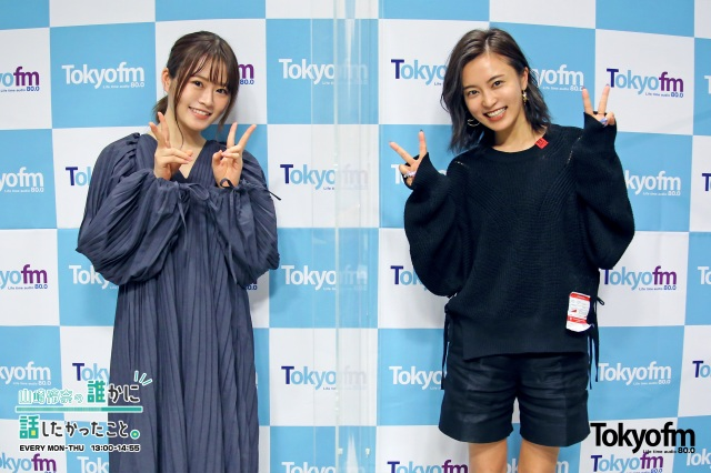 小島瑠璃子、乃木坂46・山崎怜奈との意外な関係を告白(C)TOKYO FMの画像