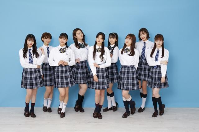 7月7日からテレビ東京で放送開始されるドラマ『ガル学。~ガールズガーデン~』に主演するGirls2 (C)「ガル学。~ガールズガーデン~」製作委員会の画像