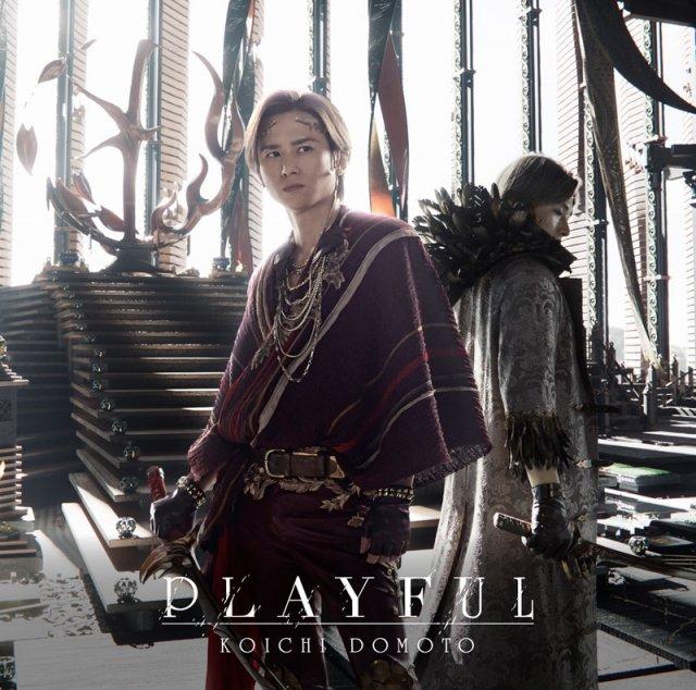 堂本光一『PLAYFUL』(ジャニーズ エンタテイメント/6月2日発売)の画像