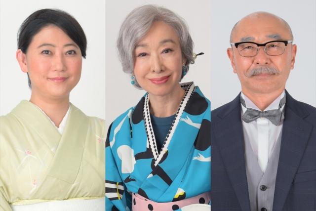 『プロミス・シンデレラ』に出演する(左から)友近、三田佳子、高橋克実 (C)TBSの画像