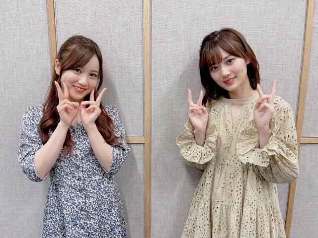 星野みなみ&山下美月が『ONE MORNING』にコメント出演(C)TOKYO FMの画像