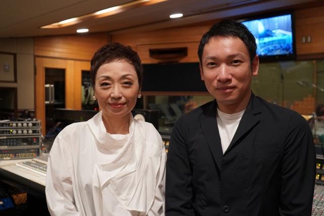 (左から)クミコ、村松崇継氏の画像