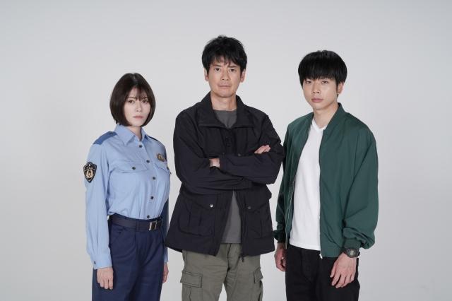 『ボイスII 110緊急指令室』に出演する真木よう子、唐沢寿明、増田貴久(NEWS) (C)日本テレビの画像