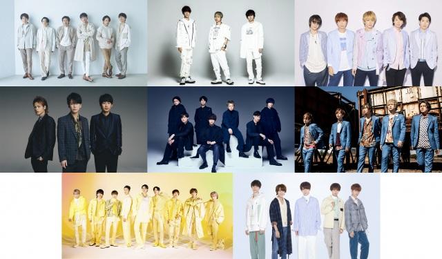 『テレ東音楽祭』にV6、NEWS、関ジャニ∞、KAT-TUN、Kis-My-Ft2、A.B.C-Z、Snow Man、HiHi Jets(ジャニーズJr.)が出演の画像