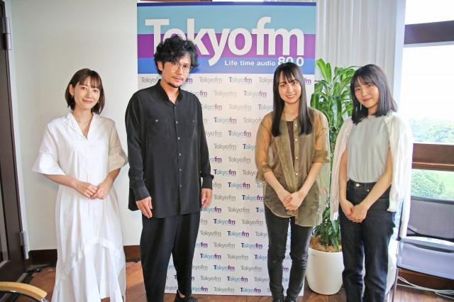 賀喜遥香&早川聖来が『THE TRAD』に生出演(C)TOKYO FMの画像