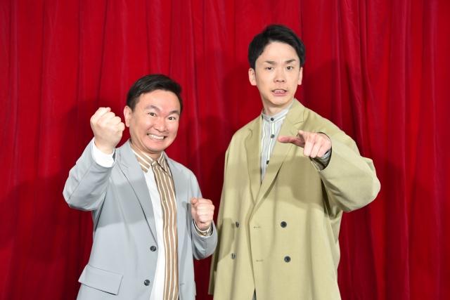 『第41回全国高等学校クイズ選手権』で新パーソナリティを務めるかまいたち (C)日本テレビの画像