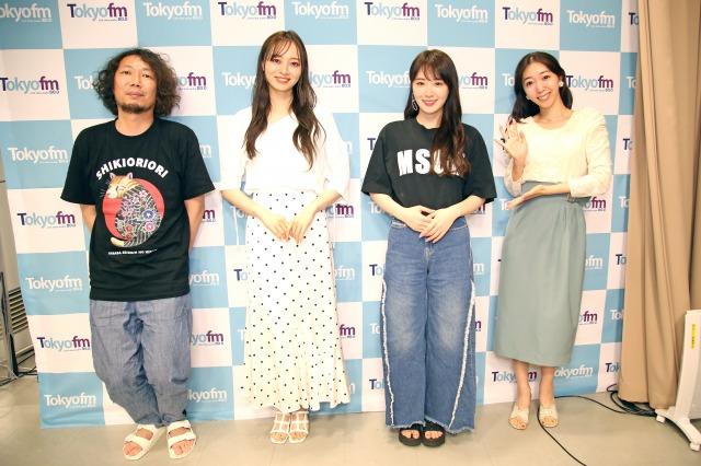 高山一実&梅澤美波が『Skyrocket Company』に生出演(C)TOKYO FMの画像