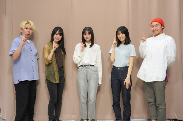 賀喜遥香、早川聖来、遠藤さくらが『SCHOOL OF LOCK!』に生出演(C)TOKYO FMの画像