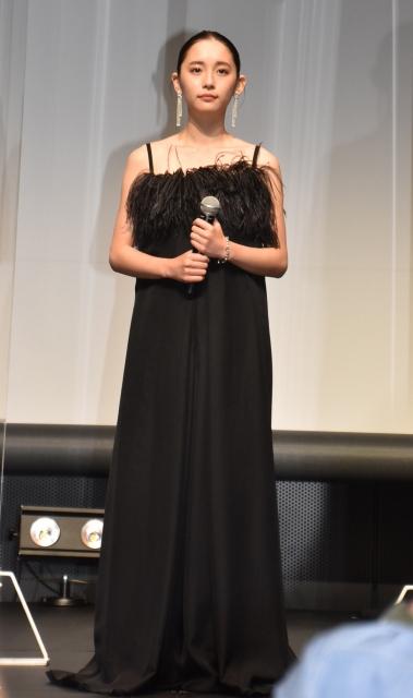 Huluオリジナルドラマ『悪魔とラブソング』配信記念イベントに登壇した浅川梨奈 (C)ORICON NewS inc.の画像