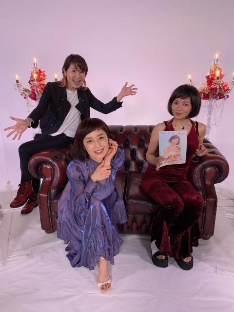 映画公開記念特別番組「リカの部屋」You Tubeで公開。(左から)伊藤さとり、高岡早紀、ミラクルひかるの画像