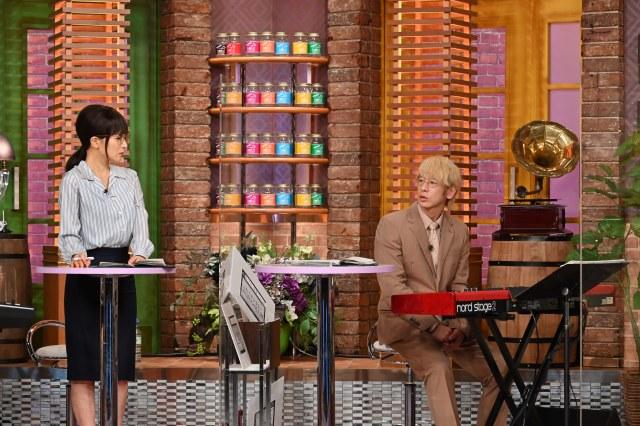 13日放送『関ジャム 完全燃SHOW』MCは椎名林檎そっくりさん!?(C)テレビ朝日の画像