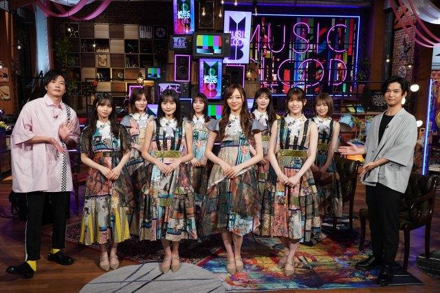 11日放送の『MUSIC BLOOD』に乃木坂46が登場 (C)日本テレビ