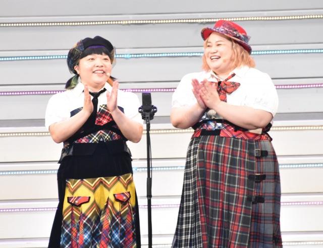 おかずクラブ(左から)オカリナ、ゆいP (C)ORICON NewS inc.