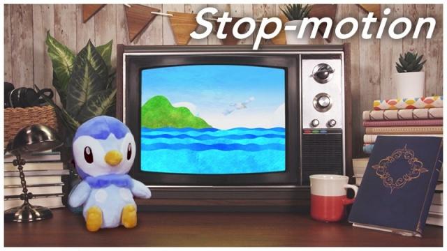 ストップモーションアニメ『ポッチャマのいる部屋』公開の画像