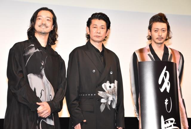 """""""三兄弟""""役について語った(左から)金子ノブアキ、永瀬正敏、オダギリジョー (C)ORICON NewS inc.の画像"""