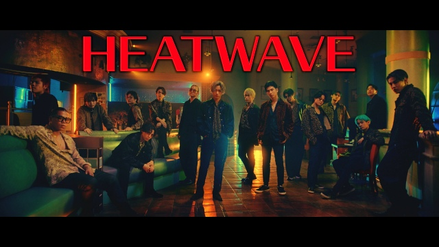 YouTubeで新曲「HEATWAVE」のMVを公開したTHE RAMPAGE from EXILE TRIBEの画像